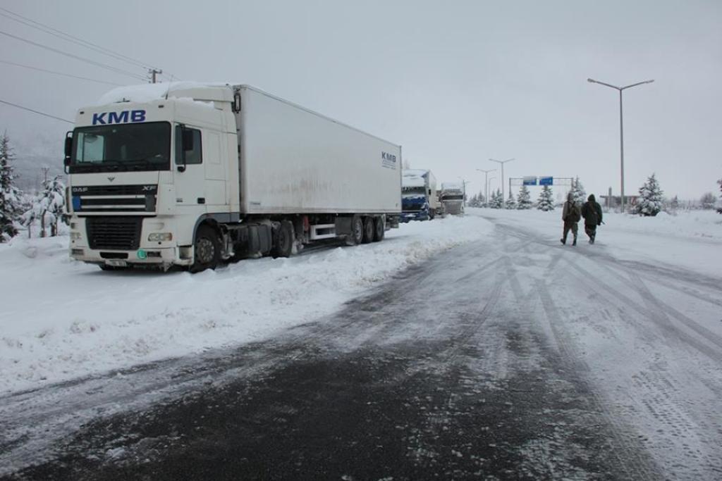 Seydişehir -Antalya yolu çekicilere kapatıldı