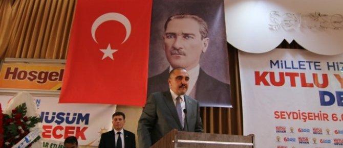 AK Parti Seydişehir 6. ilçe kongresi yapıldı