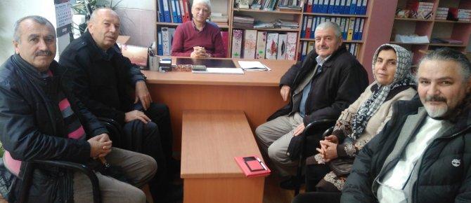 CHP ilçe başkanı Orhan Özel den Seydişehir Postası na ziyaret