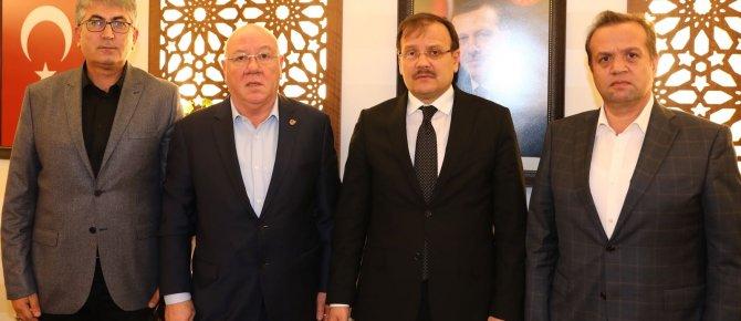 TGK heyeti, Başbakan Yardımcısına basının acil sorunlarını iletti...