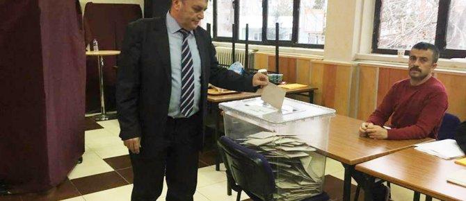 Seydişehir Esnaf ve Sanatkarlar Odası Başkanlığı seçimlerinde