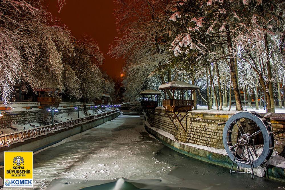 """""""Konya'da Kar"""" Fotoğraf Yarışması Sonuçlandı"""