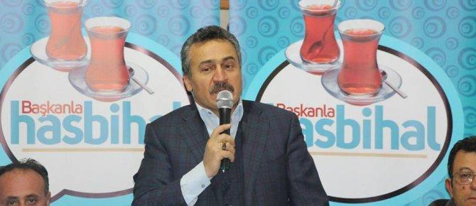 BAŞKAN TUTAL KAR, SOĞUK DİNLEMİYOR, HASBİHAL'E DEVAM EDİYOR