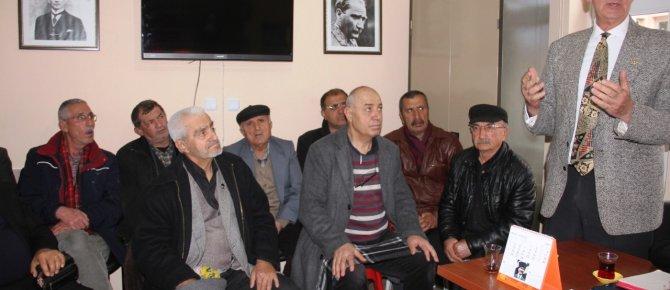 CHP Konya Milletvekili Bozkurt'un ziyareti