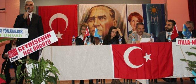 İyi Parti Seydişehir ilçe kongresi