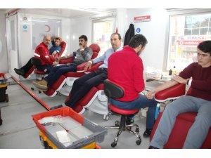 Zeytin Dalı Harekâtı'na Destek İçin Kan Bağışı