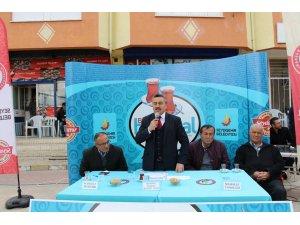 BAŞKAN TUTAL, ORTAKARAÖREN'DE HASBİHAL'D