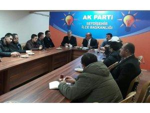 SEYDİŞEHİR AK PARTİ'DEN MAHALLE BAŞKANLARI TOPLANTISI