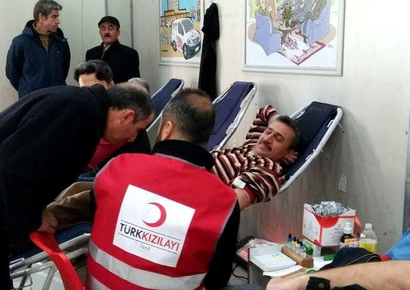 Kızılay Seydişehir'de 349 ünite kan topladı