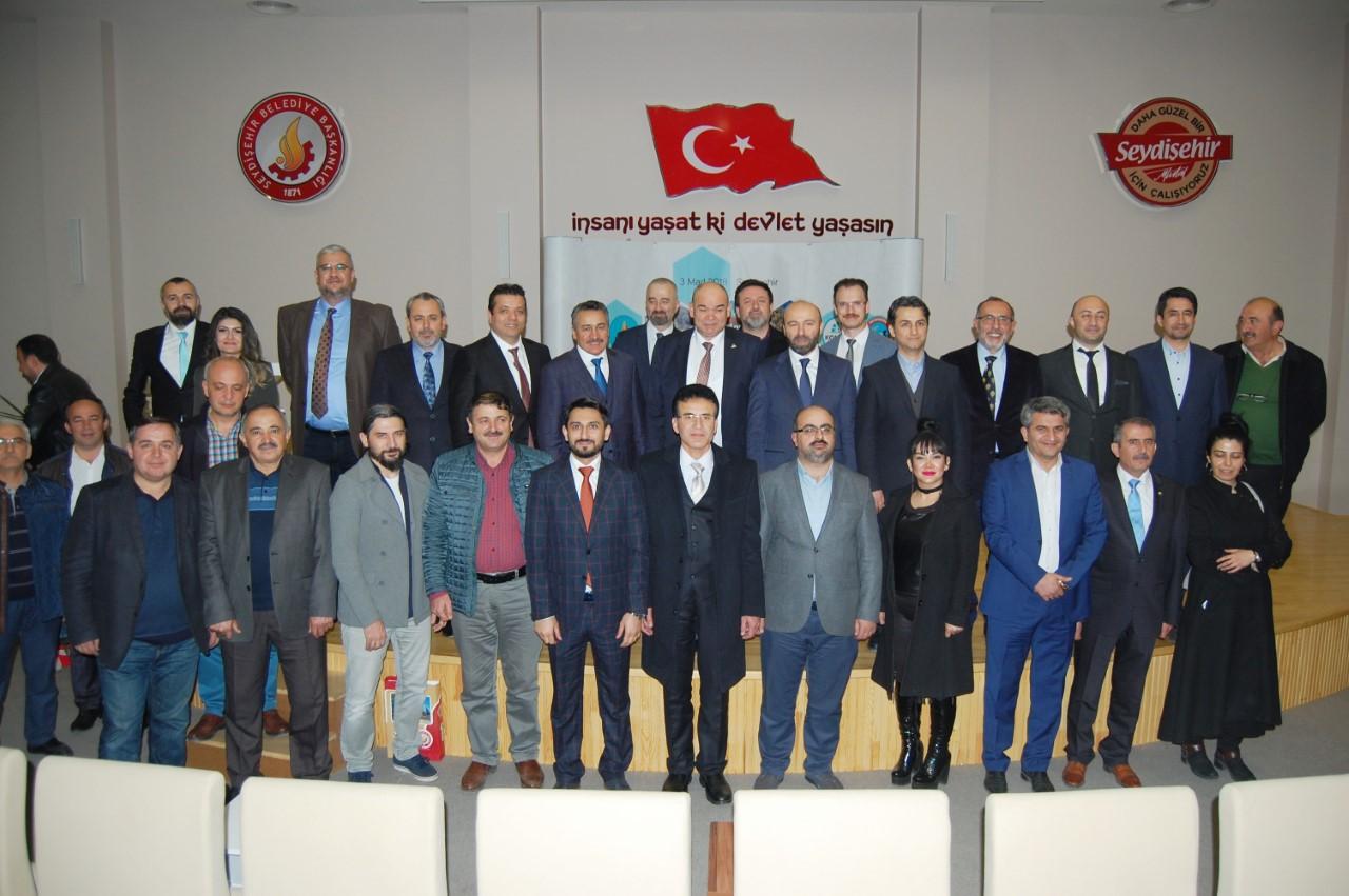 Konyalı iş adamları Seydişehir'de buluşt