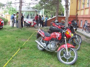 Motosiklet Sürücülerine Sıkı Deneti