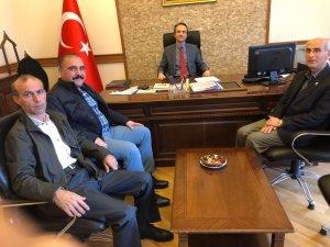 MALATYA VALİ YARDIMCISI ÖZYİĞİT'E SEYDİŞEHİR'DEN ZİYARET