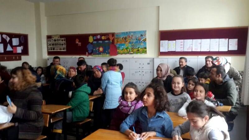 Seydişehir'de 13 bin öğrenci karne aldı
