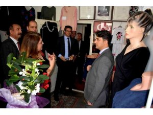 Seydişehir'de Bayan Giysileri Dikim Kursu Sergisi Açıldı