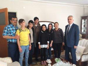 Seydişehir Mesleki Eğitim Merkezi Öğrencilerinden Şehit Ailesi Ziyareti.