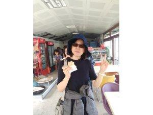 Tayvan lı turistlerin  Gözleme keyfi