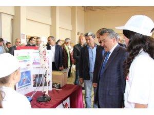 Seydişehir Kecesik'te Tübitak Bilim Fuarı Açıldı