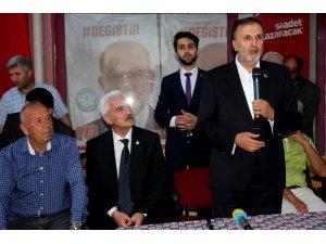 SP Konya Milletvekili Adayı Özkafa Seydişehir'de