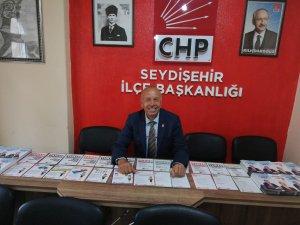 CHP Seydişehir İlçe Başkanlığından Diğer Siyasi Partilere Açık Çağrımızdır
