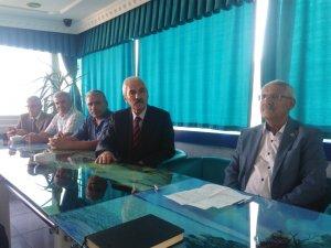 İyi parti Konya milletvekili Fahrettin Yokuş Teşekkür ziyaretinde bulund