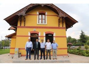 CİB Konya İl Müdürlüğünden, TSYD Konya Şubesi'ne ziyaret