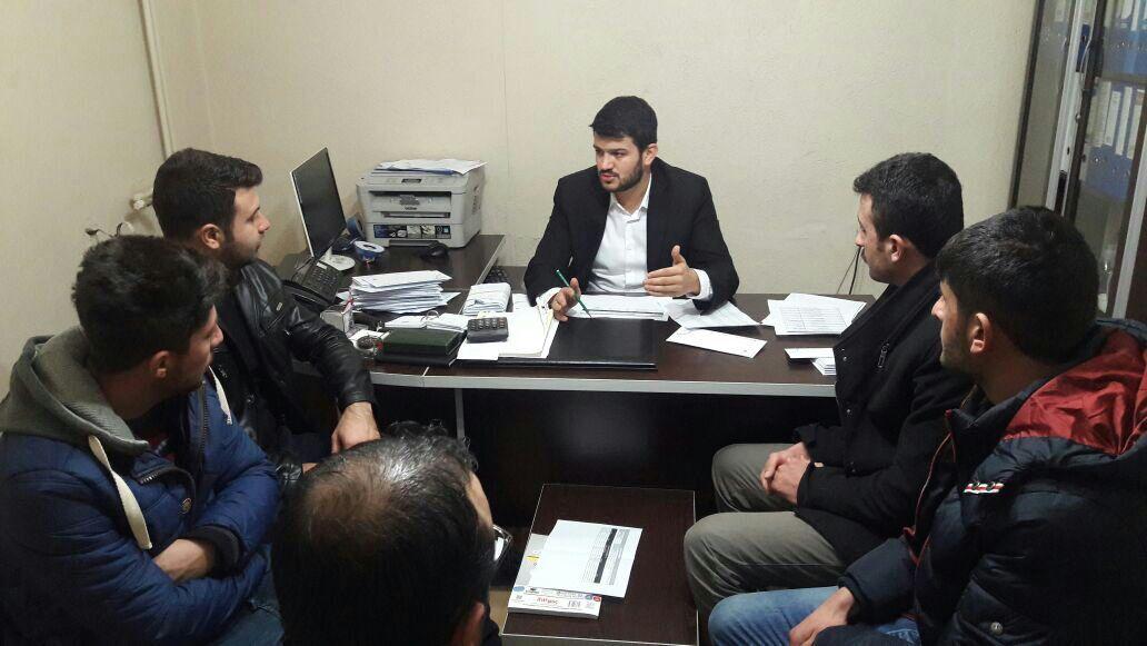 AK Parti İl Gençlik Kolları referandum çalışmalarına devam ediyor
