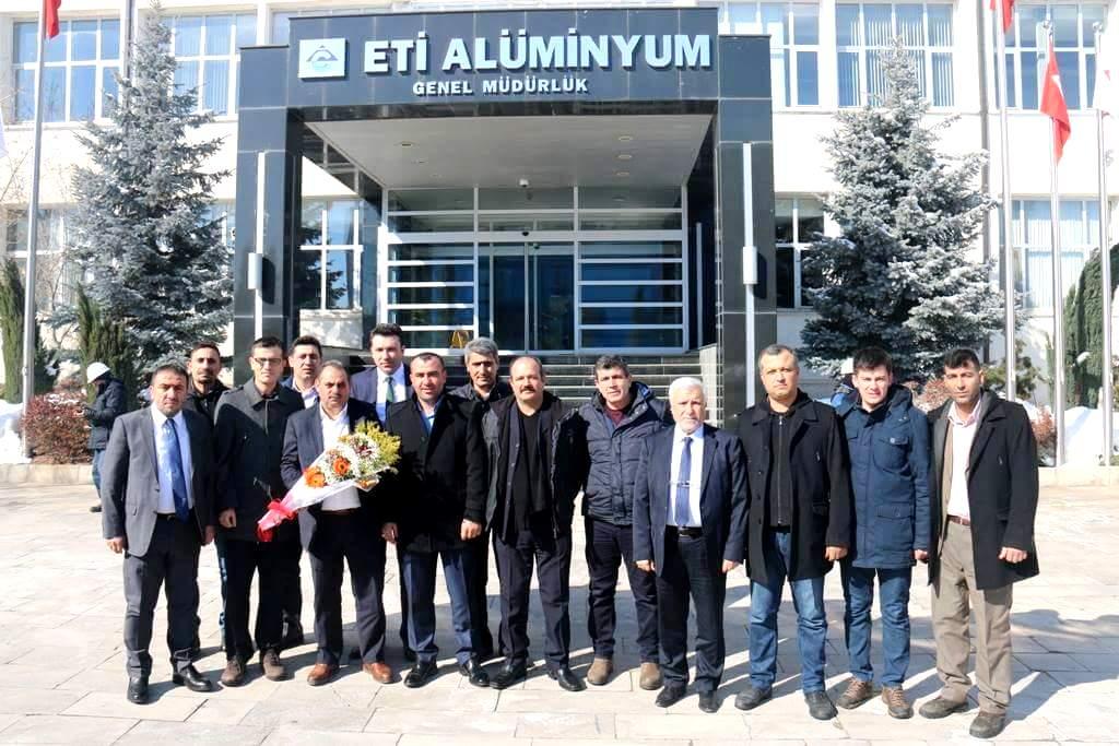 Çelik-İş Sendikası Genel Başkanı Değirmenciden Ziyaret