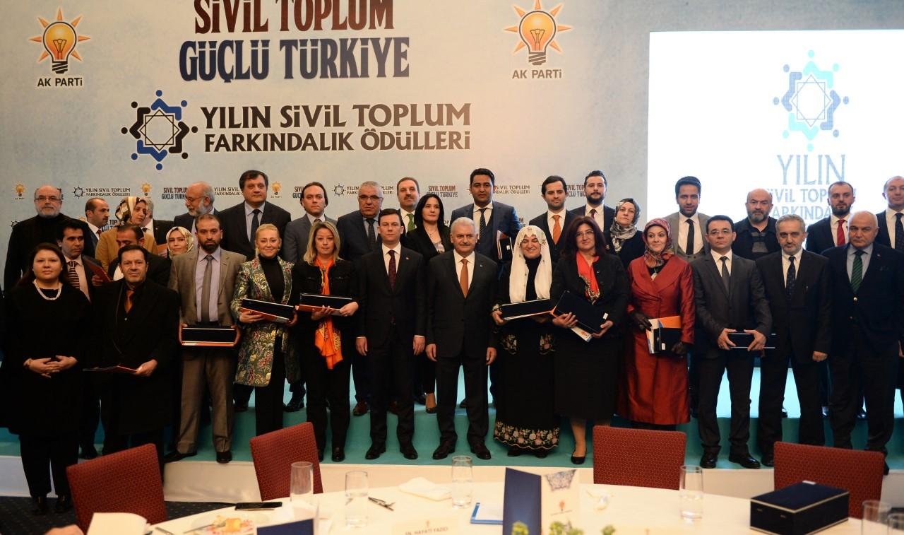 """AK Parti'den Konya Şeker'e """"Farkındalık"""" Ödülü"""