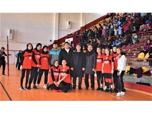 Okul sporları genç kızlar voleybol turnuvası