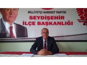 Seydişehir MHP de görev  değişimi