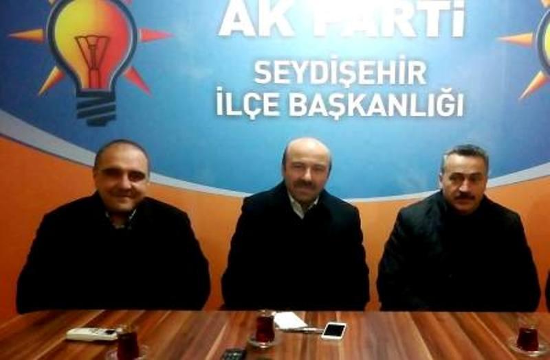 AK Parti Seydişehir danışma meclisi toplantısı