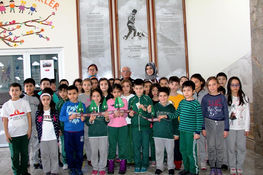 Seydişehir'de öğrencilere doğa bilinci anlatıldı