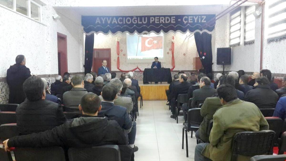 Kamu hizmetleri değerlendirme toplantısı yapıldı