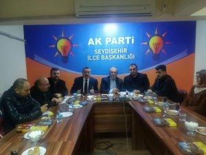 Başkan Atalay ve yönetimi ilk toplantısını gerçekleştirdi