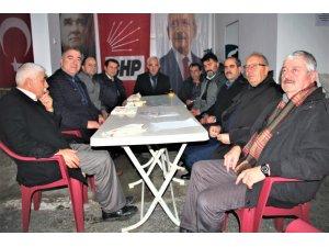 Esnaf Kefalet yönetiminden CHP'ye ziyaret