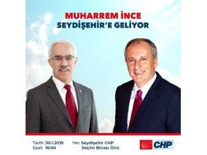 MUHARREM İNCE SEYDİŞEHİR'DE