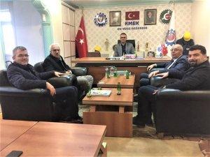 CHP, Özçelik-iş sendikasını ziyaret ett