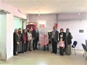Emniyet Müdürü Özdemir'den kursiyerlere ziyaret