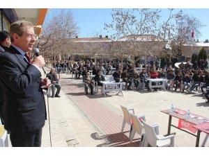 CHP Konya Milletvekili Abdüllatif Şener, Seydişehir'de