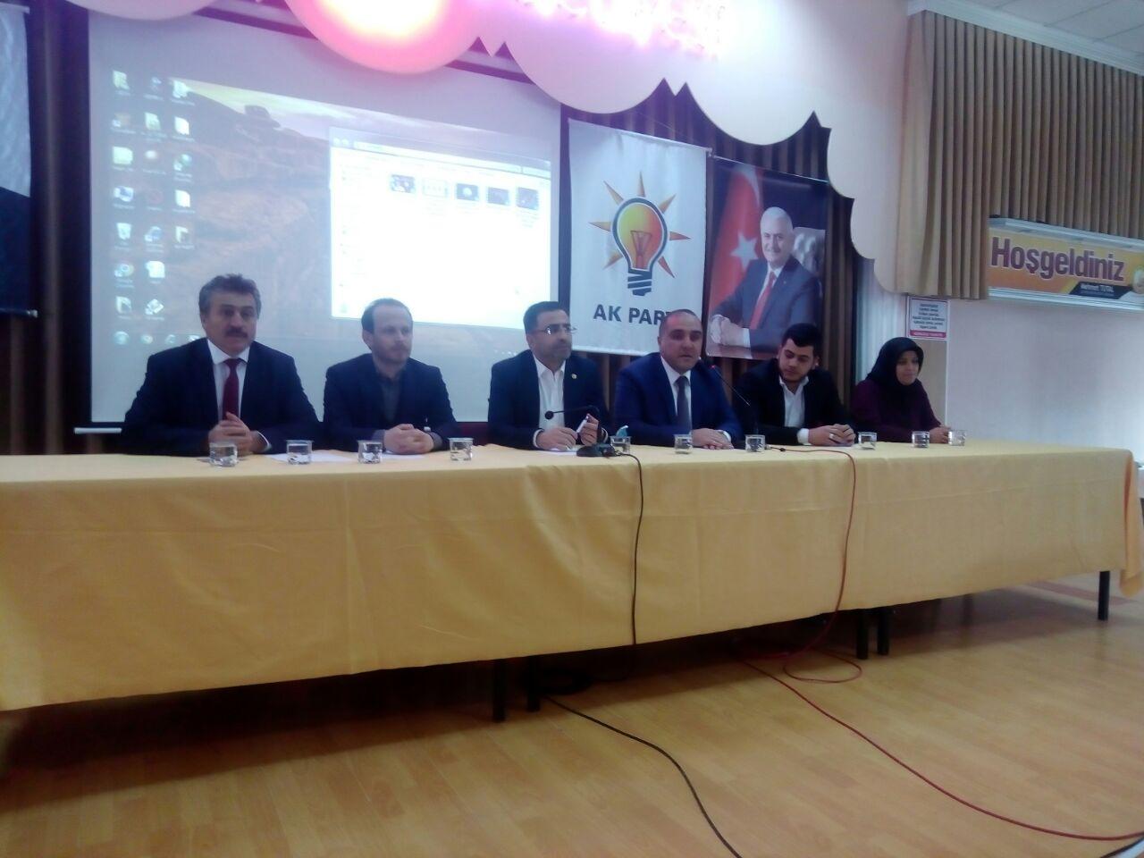 AK Parti Seydişehir Danışma Meclisi Toplantısı Yapıldı