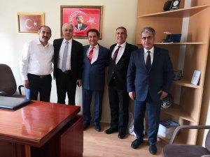 KOBİ PAZALAMA DAİRE BAŞKANI ndan  ESNAF KEFALET KOOPERATİFİNE ZİYARET