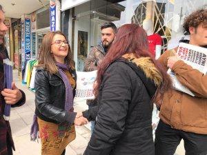 TKP Belediye Başkan adayı Zehra Filiz Demirayak!