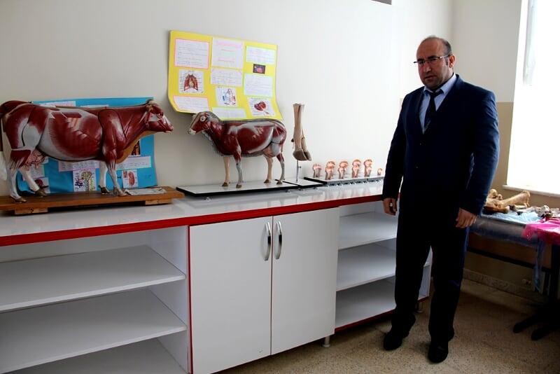Suğla Anadolu Tarım Meslek Lisesi bölgenin yükselen değeri