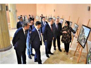 Ressam Fatma Kırdar, resim sergisi açtı