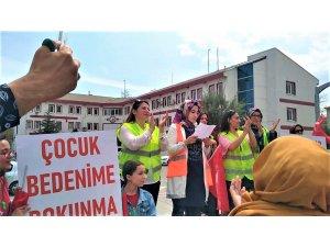 Seydişehir'de çocuk istismarına hayır yürüyüşü