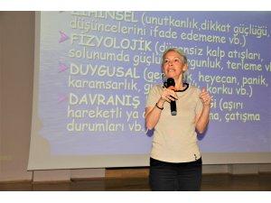 Seydişehir'de verimli ders çalışma teknikleri anlatıldı