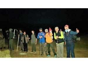 Seydişehirli dağcıların 100. yıl zirve tırmanışı