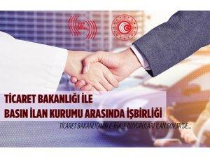 Ticaret Bakanlığı ile Basın İlan Kurumu arasında işbirliği
