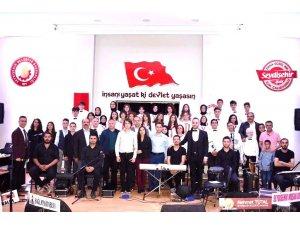 Seydişehir fen lisesi konser düzenledi