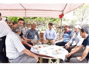 Kaymakam Erdoğan'dan mahalle ziyaretleri